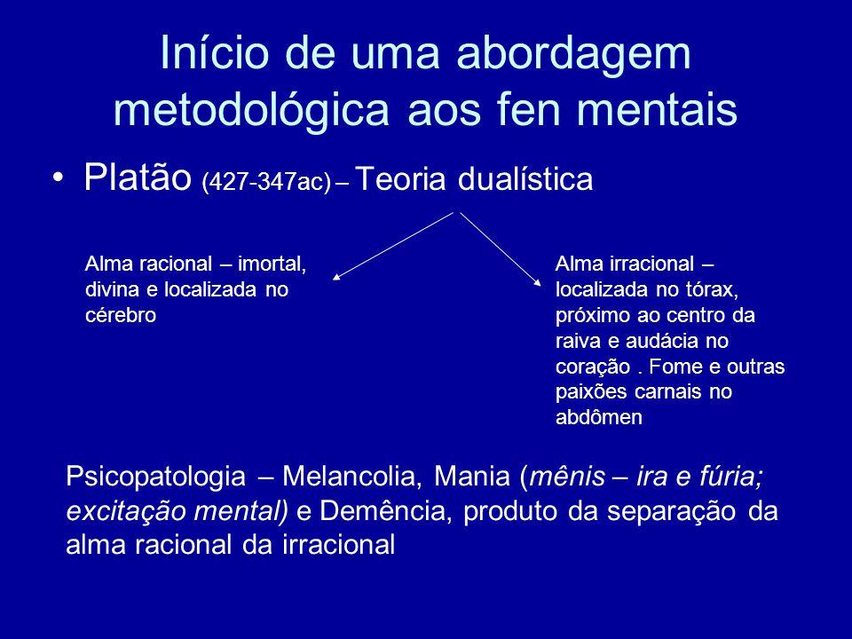 Início de uma abordagem metodológica aos fen mentais