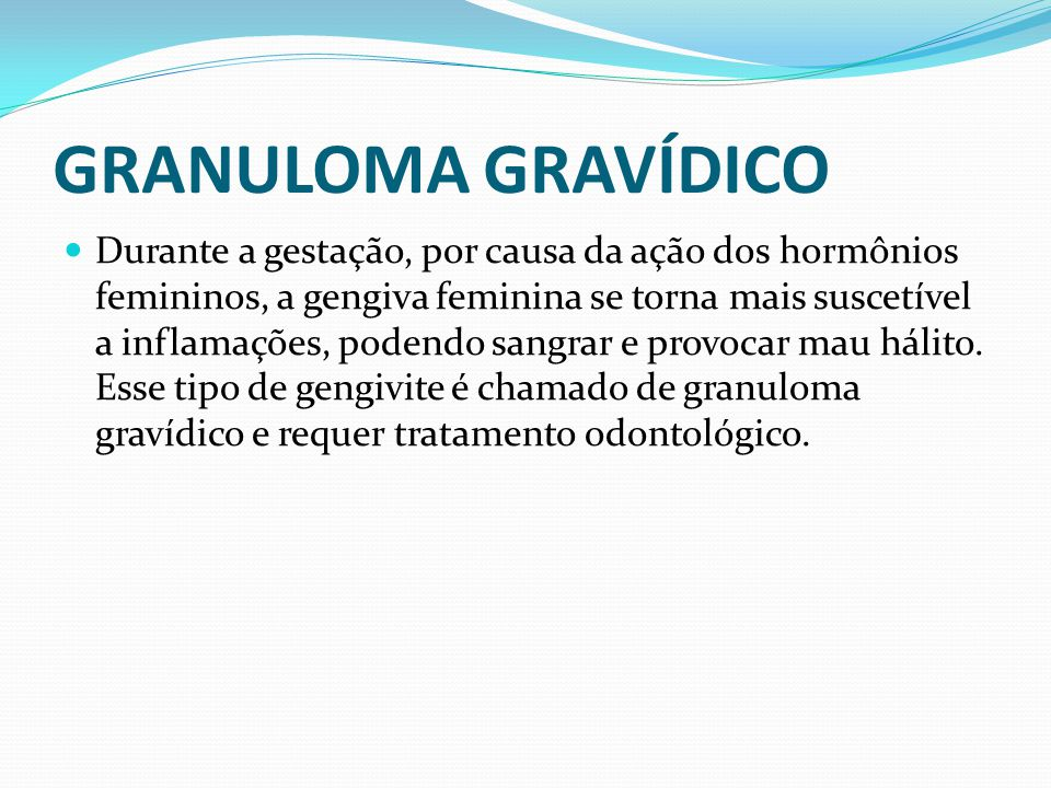 GRANULOMA GRAVÍDICO