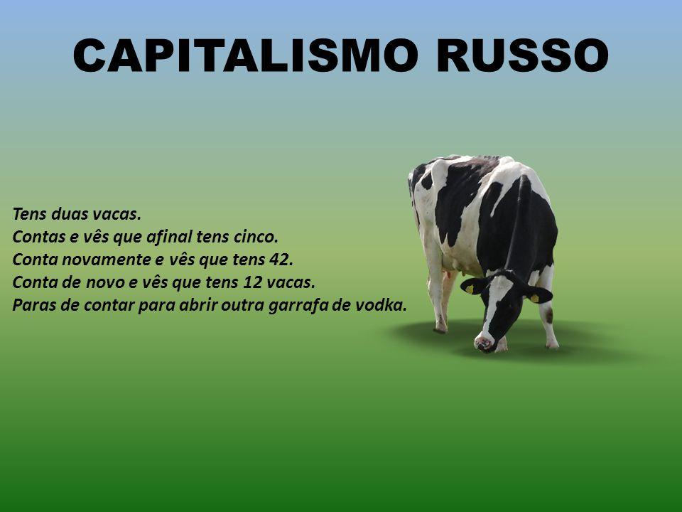 CAPITALISMO RUSSO