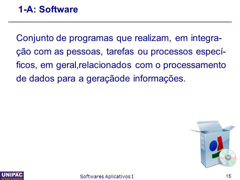 Conjunto de programas que realizam, em integra-