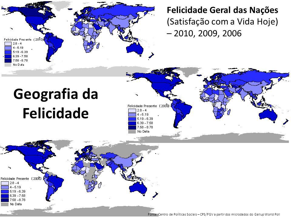 Geografia da Felicidade