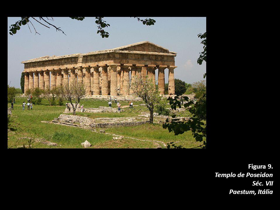 Figura 9. Templo de Poseidon Séc. VII Paestum, Itália