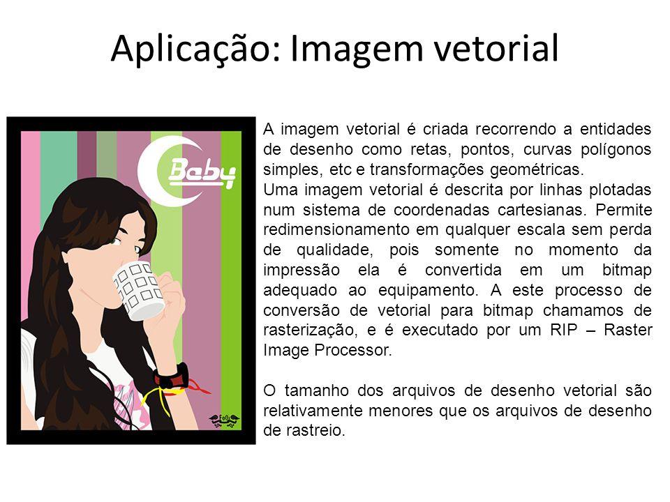 Aplicação: Imagem vetorial