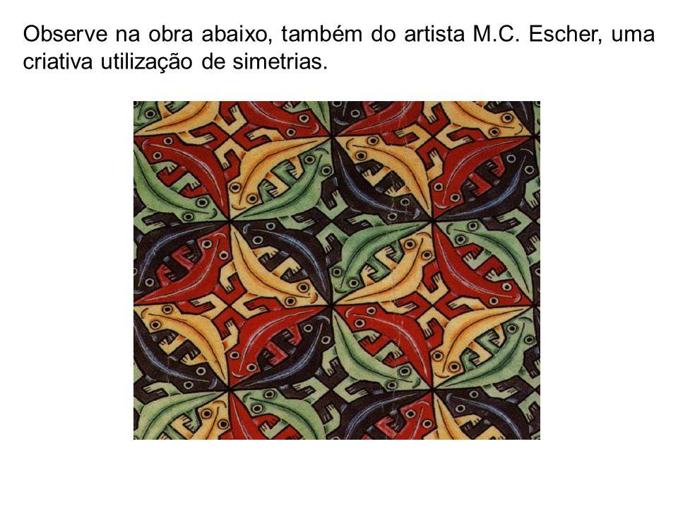 Observe na obra abaixo, também do artista M. C