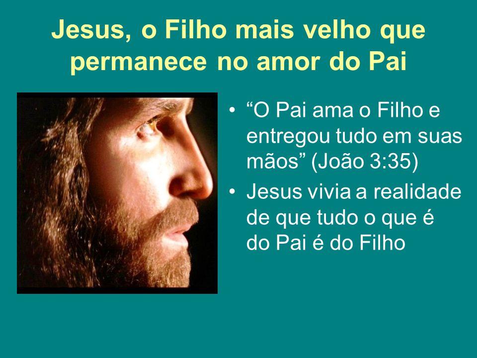 Jesus, o Filho mais velho que permanece no amor do Pai