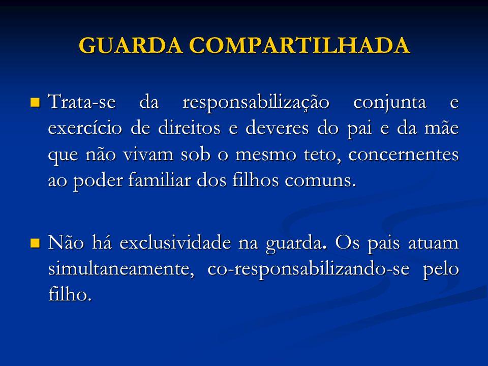 GUARDA COMPARTILHADA
