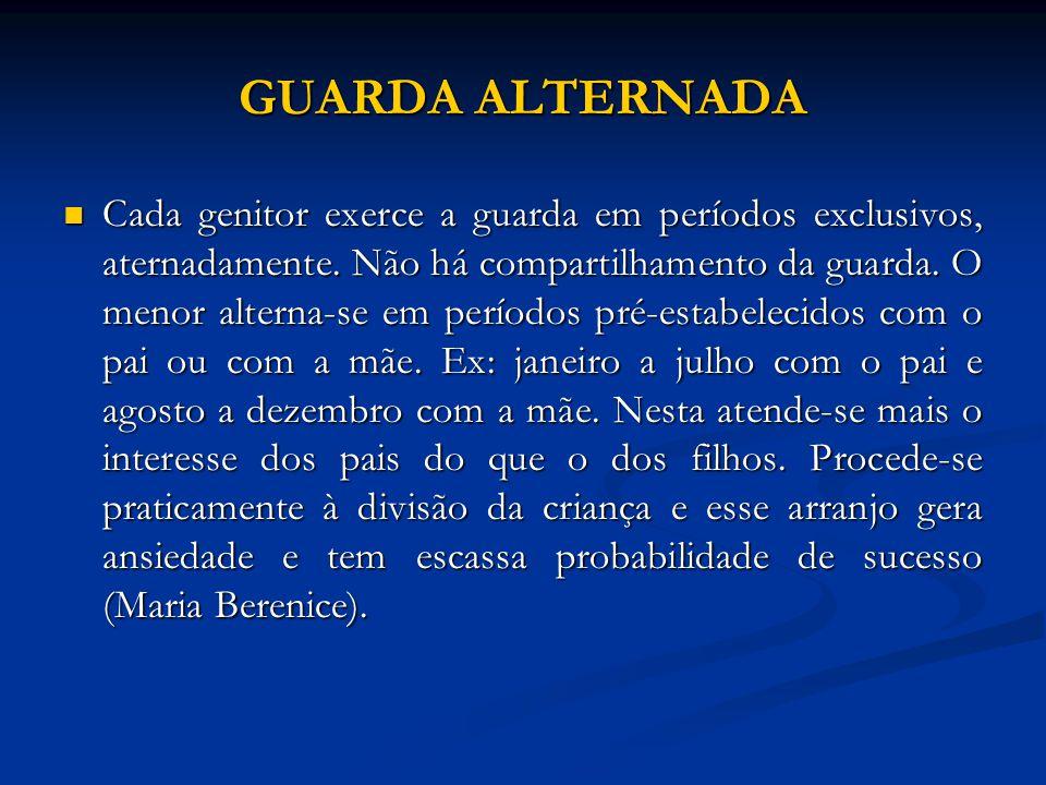 GUARDA ALTERNADA