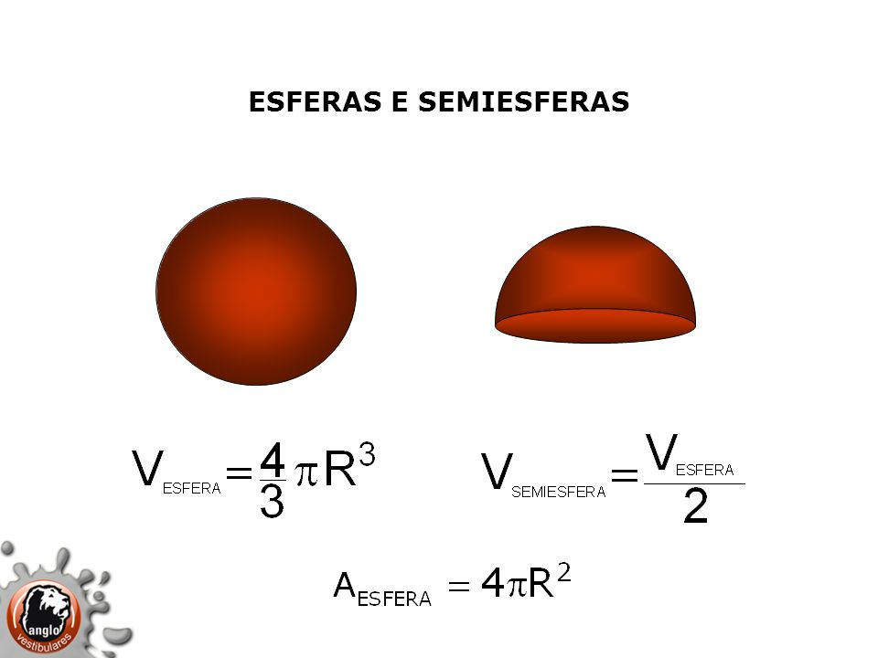 ESFERAS E SEMIESFERAS