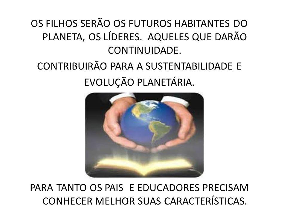 CONTRIBUIRÃO PARA A SUSTENTABILIDADE E