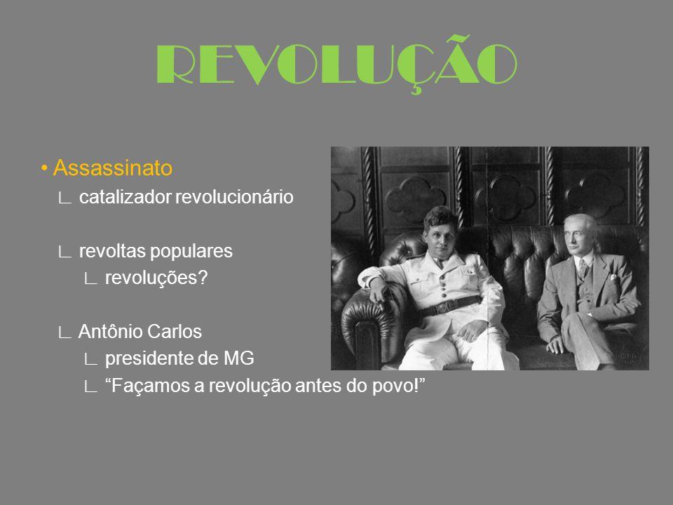 REVOLUÇÃO • Assassinato ∟ catalizador revolucionário
