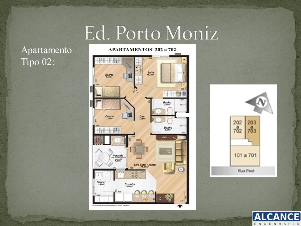 Ed. Porto Moniz Apartamento Tipo 02: