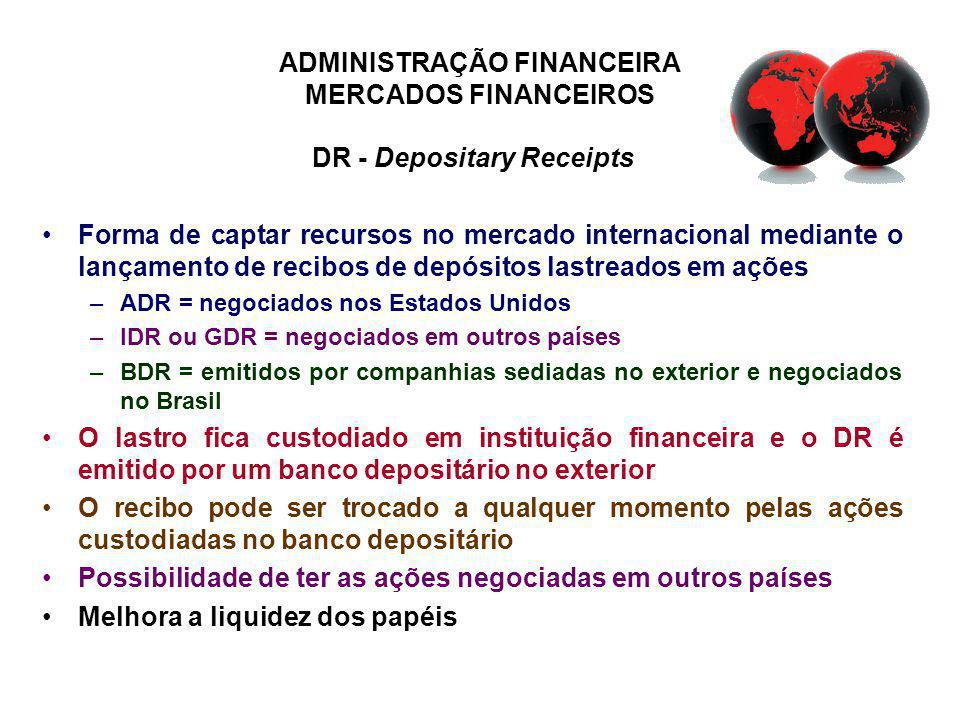 DR - Depositary Receipts