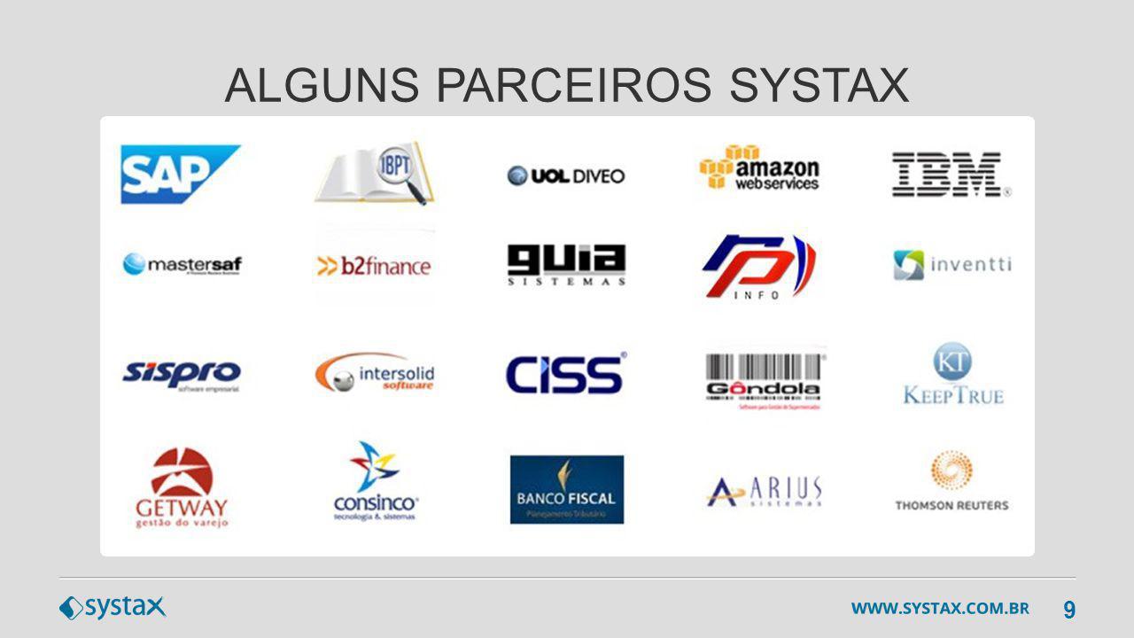ALGUNS PARCEIROS SYSTAX