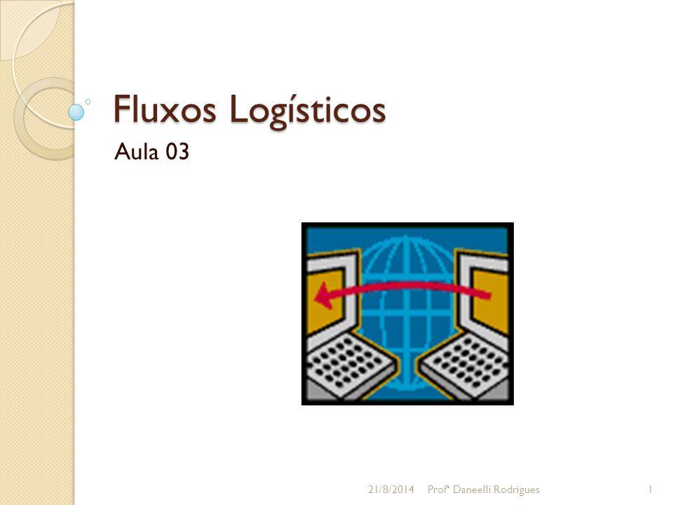Fluxos Logísticos Aula 03 05/04/2017 Profª Daneelli Rodrigues