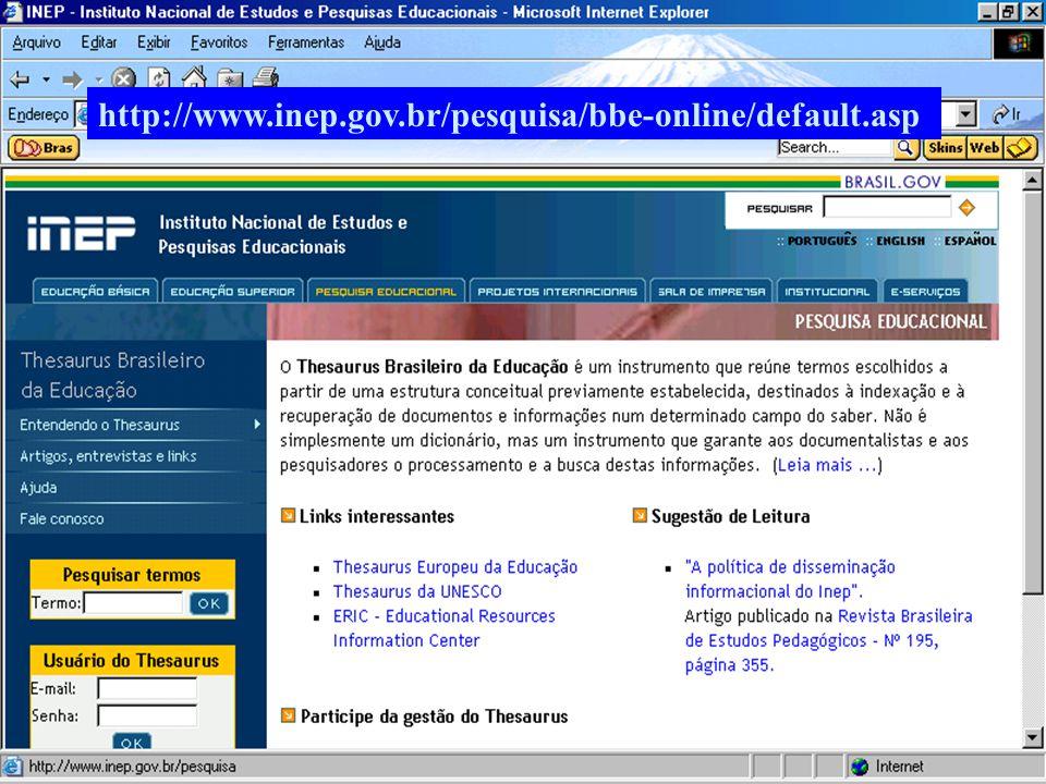 http://www.inep.gov.br/pesquisa/bbe-online/default.asp (c) GCS, 2003