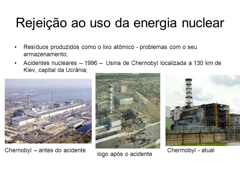 Rejeição ao uso da energia nuclear