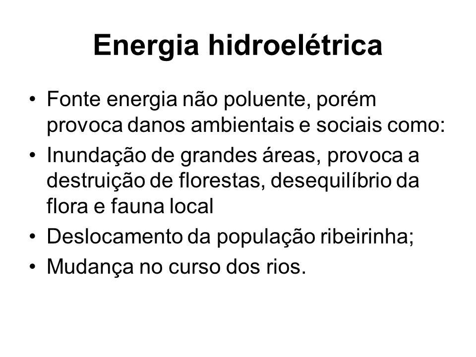 Energia hidroelétrica