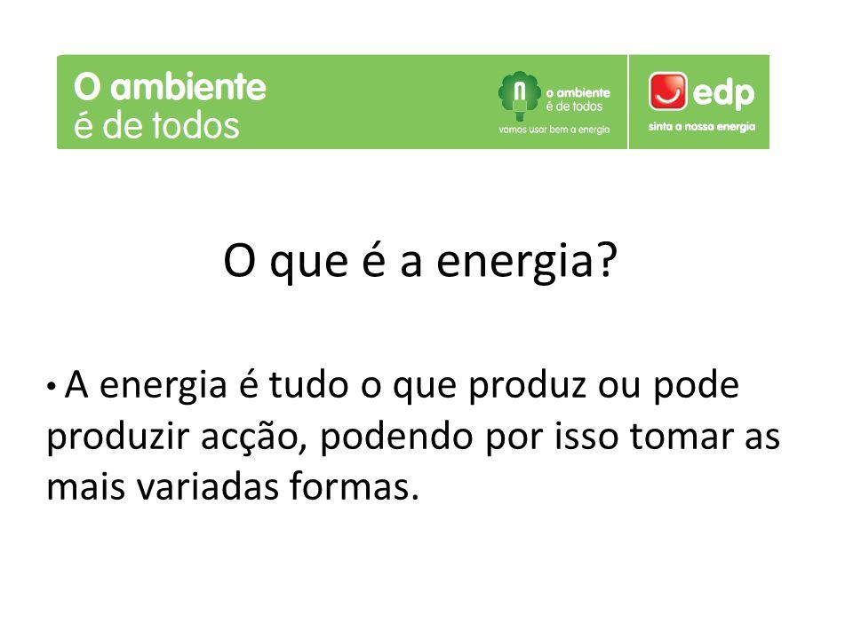 O que é a energia.