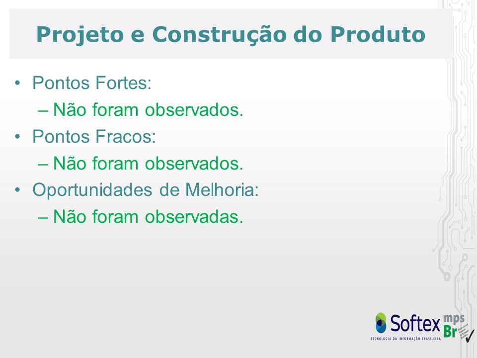 Projeto e Construção do Produto