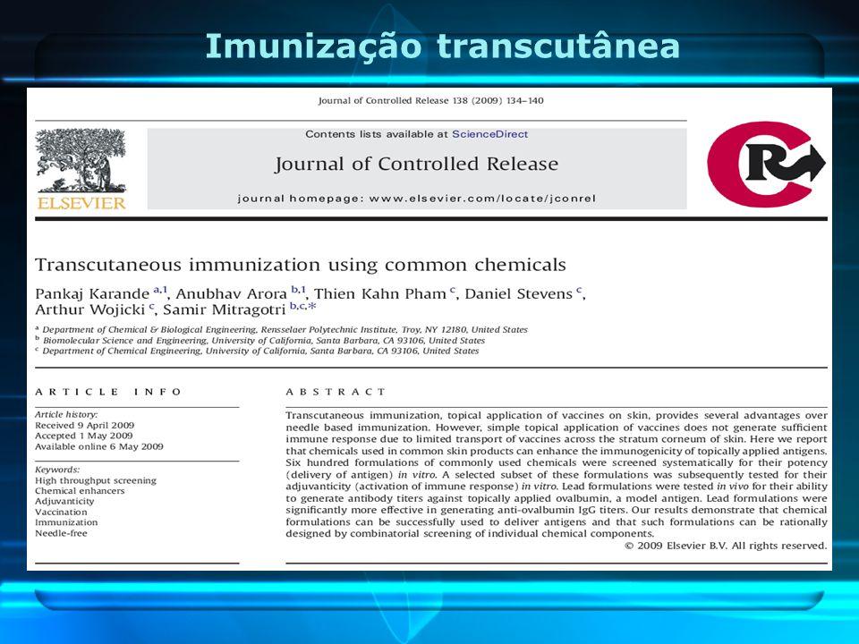 Imunização transcutânea