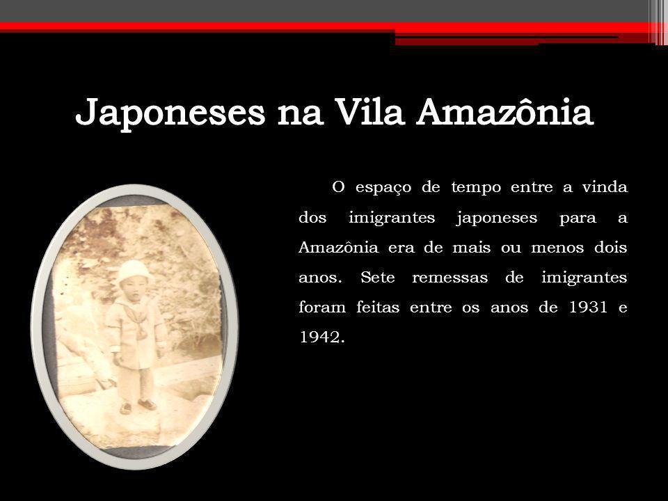Japoneses na Vila Amazônia