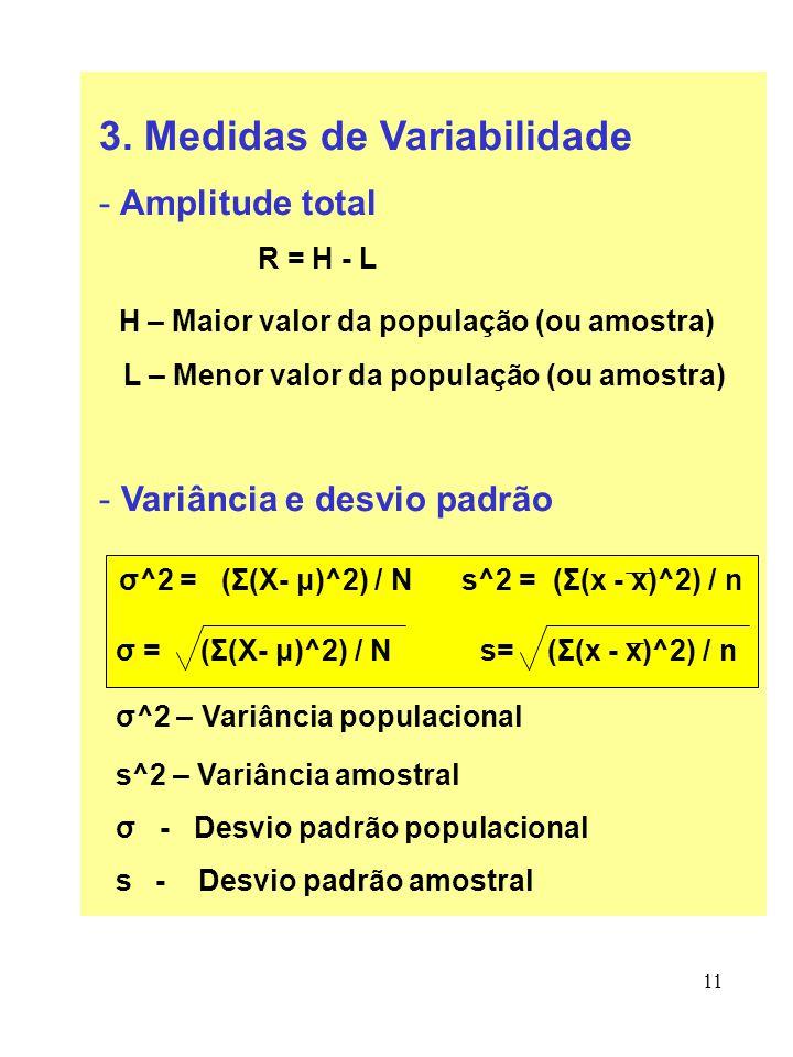 3. Medidas de Variabilidade