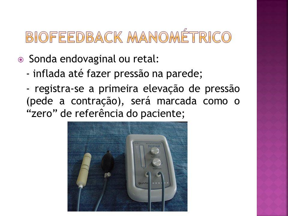 BIOFEEDBACK MANOMÉTRICO
