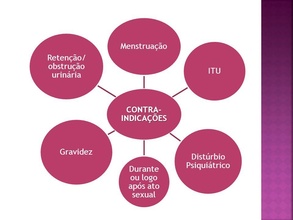 Distúrbio Psiquiátrico Durante ou logo após ato sexual Gravidez