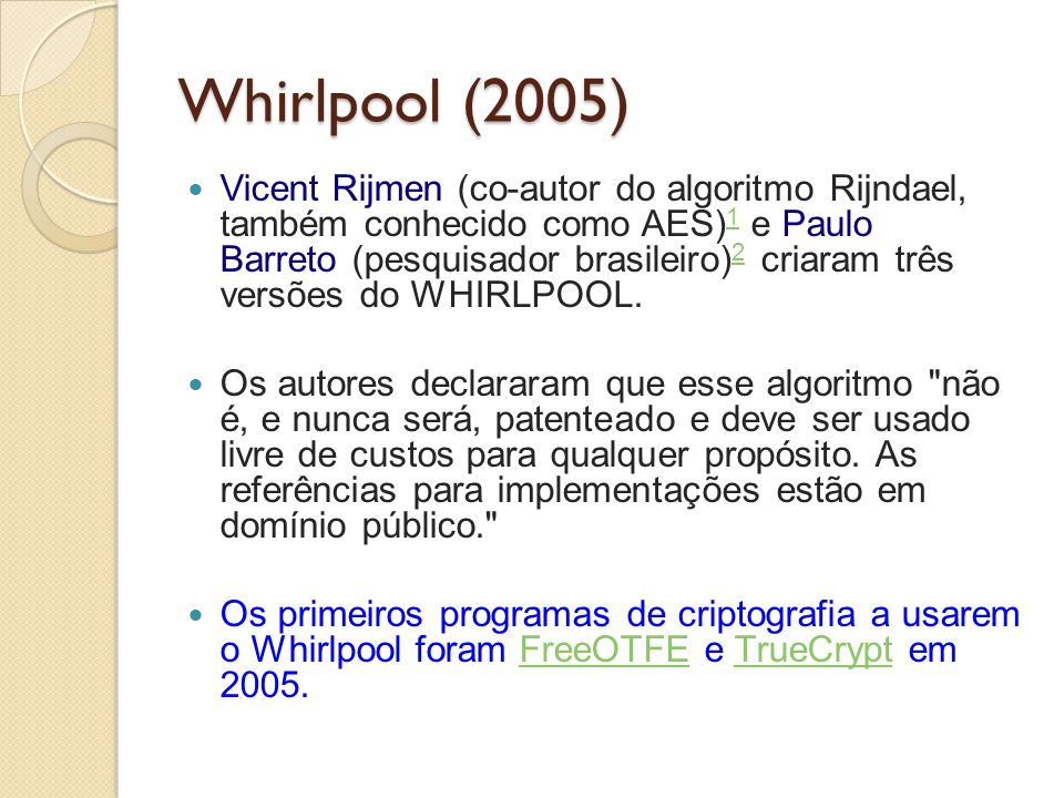 Whirlpool (2005)
