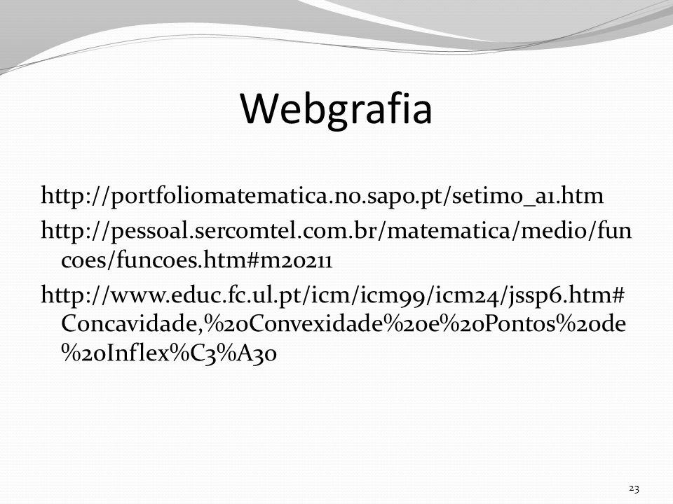 Webgrafia http://portfoliomatematica.no.sapo.pt/setimo_a1.htm