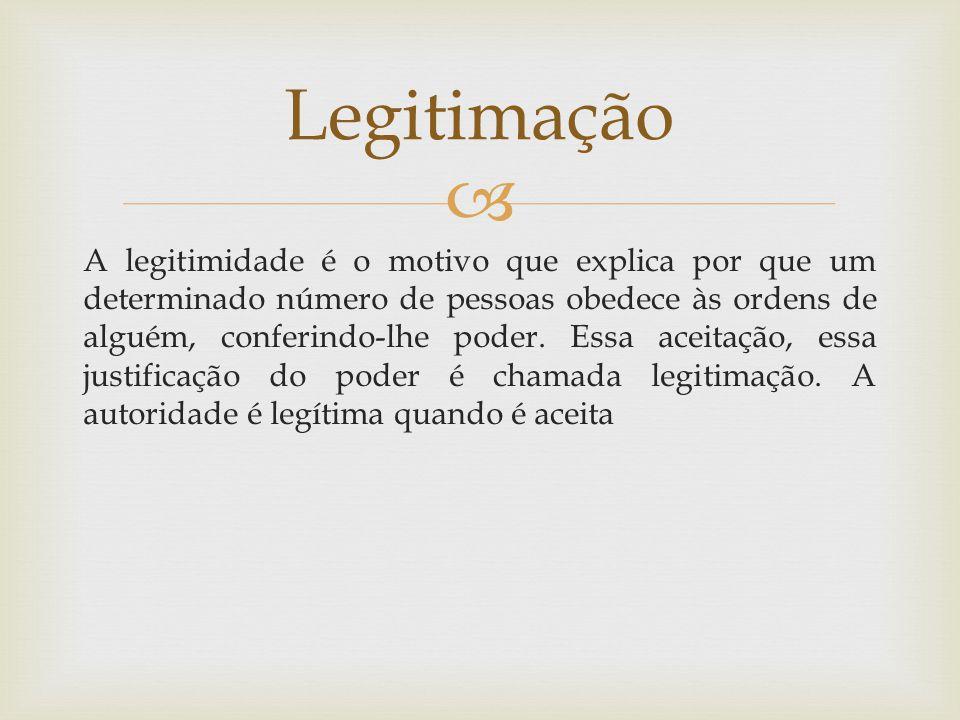 Legitimação