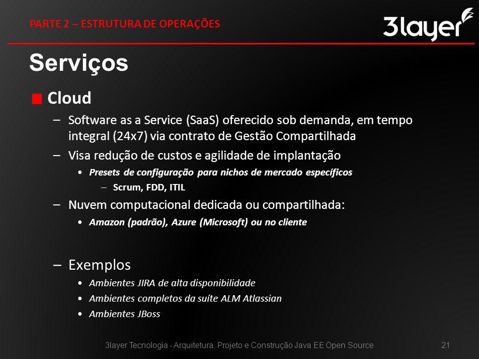 Serviços Cloud Exemplos