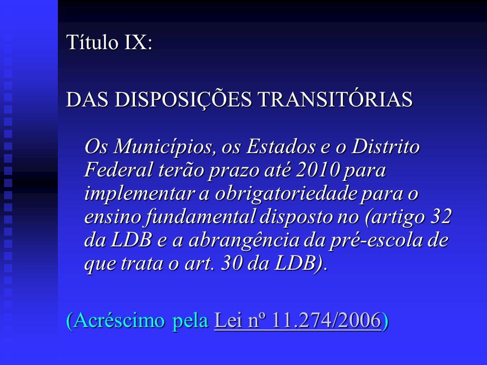 Título IX: