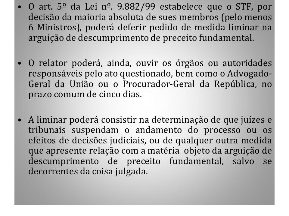 1.7 CONCESSÃO DE LIMINAR