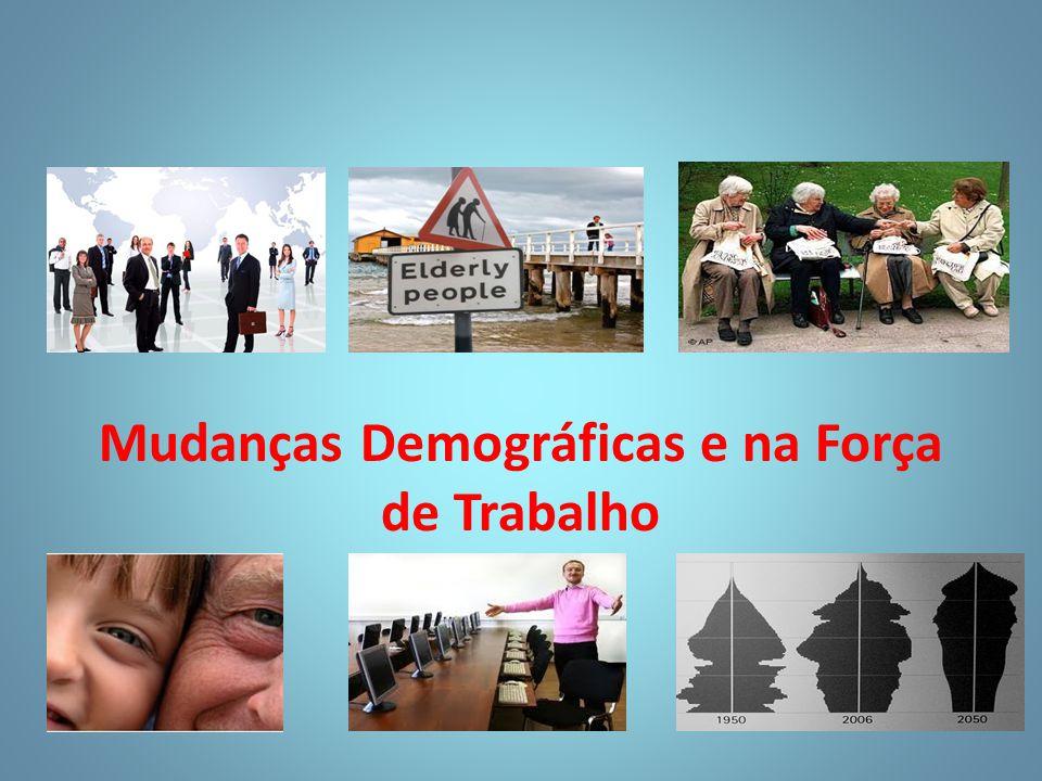 Mudanças Demográficas e na Força de Trabalho