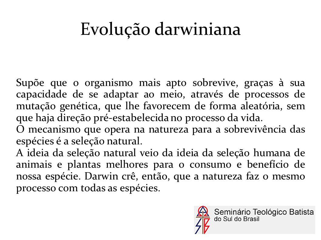 Evolução darwiniana
