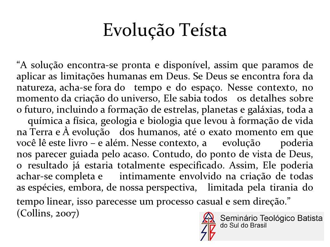 Evolução Teísta