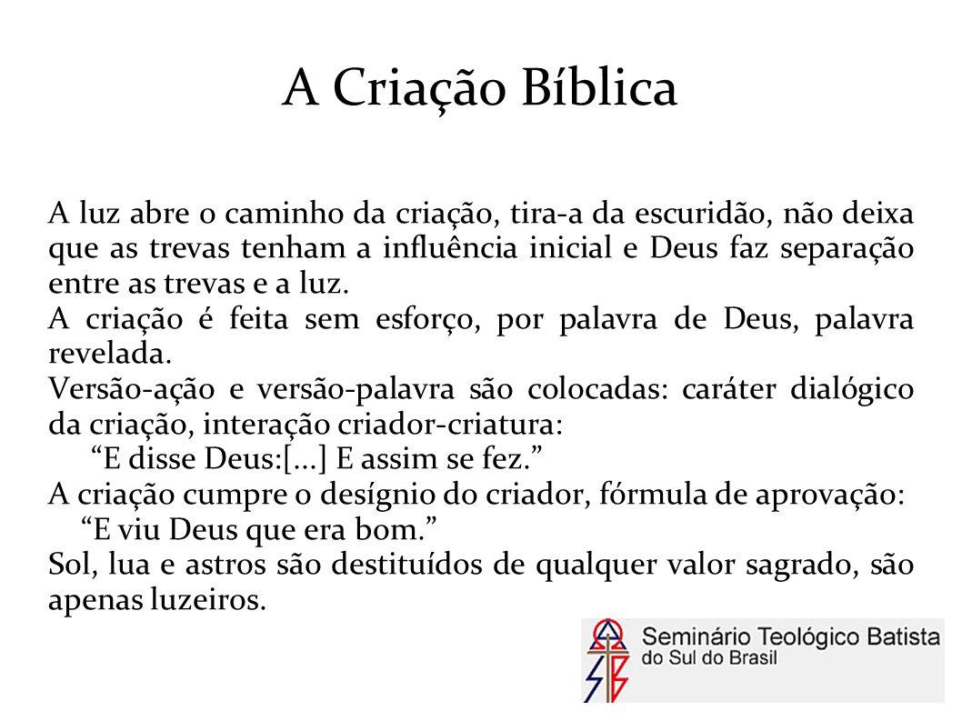 A Criação Bíblica