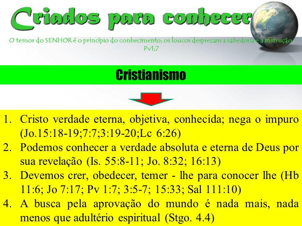 Criados para conhecer Cristianismo