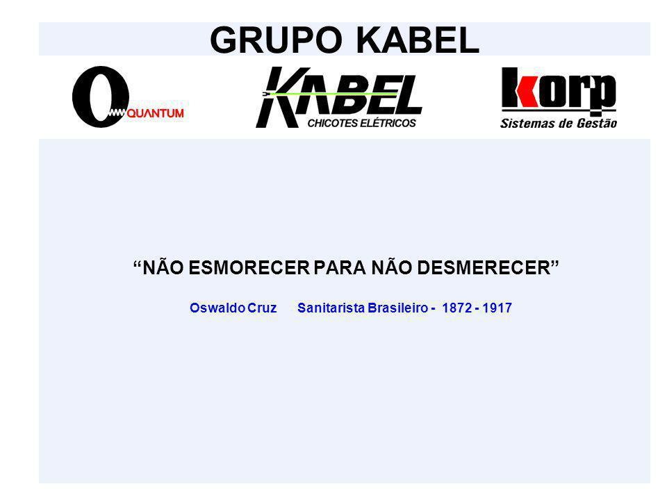 GRUPO KABEL Oswaldo Cruz Sanitarista Brasileiro - 1872 - 1917