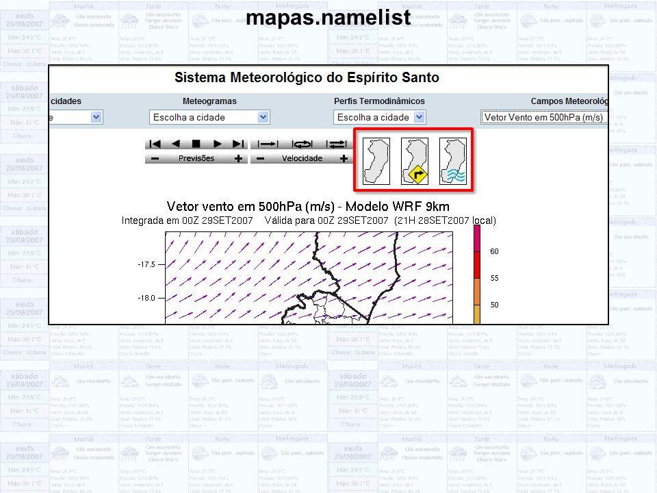 mapas.namelist