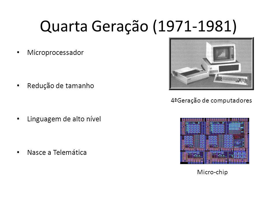 4ªGeração de computadores