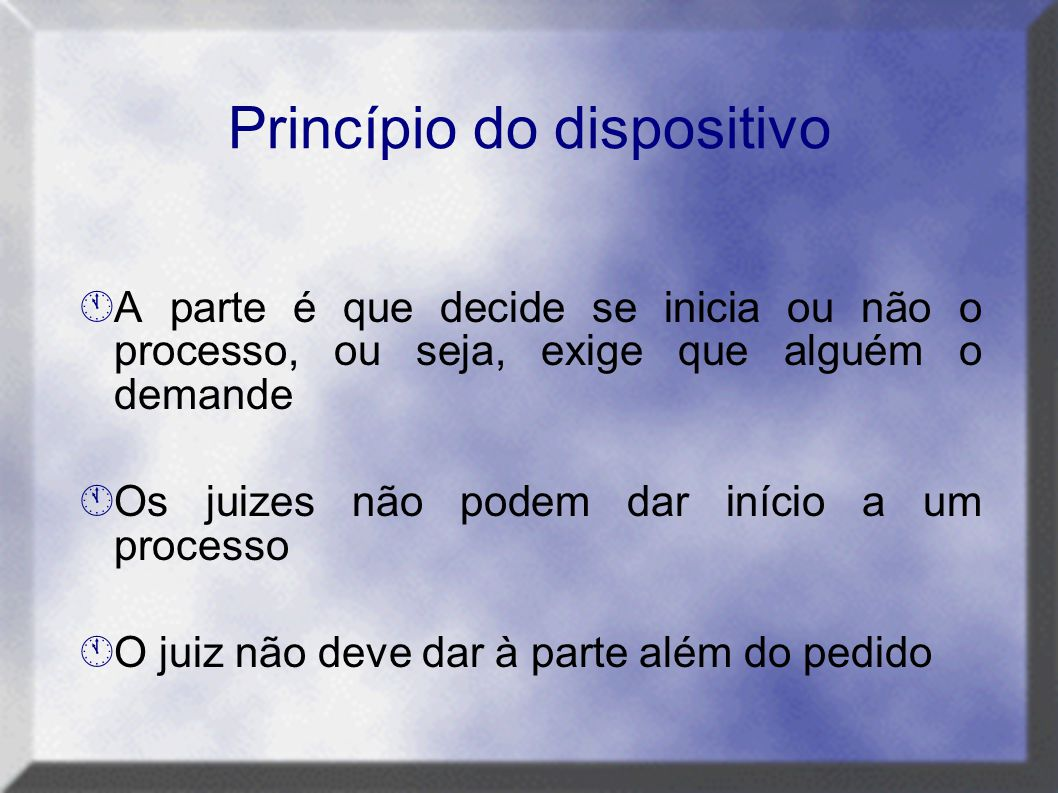 Princípio do dispositivo