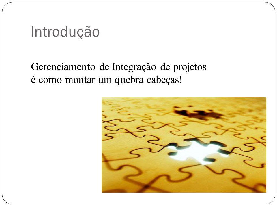 Introdução Gerenciamento de Integração de projetos
