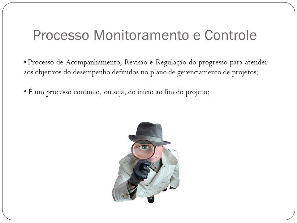 Processo Monitoramento e Controle