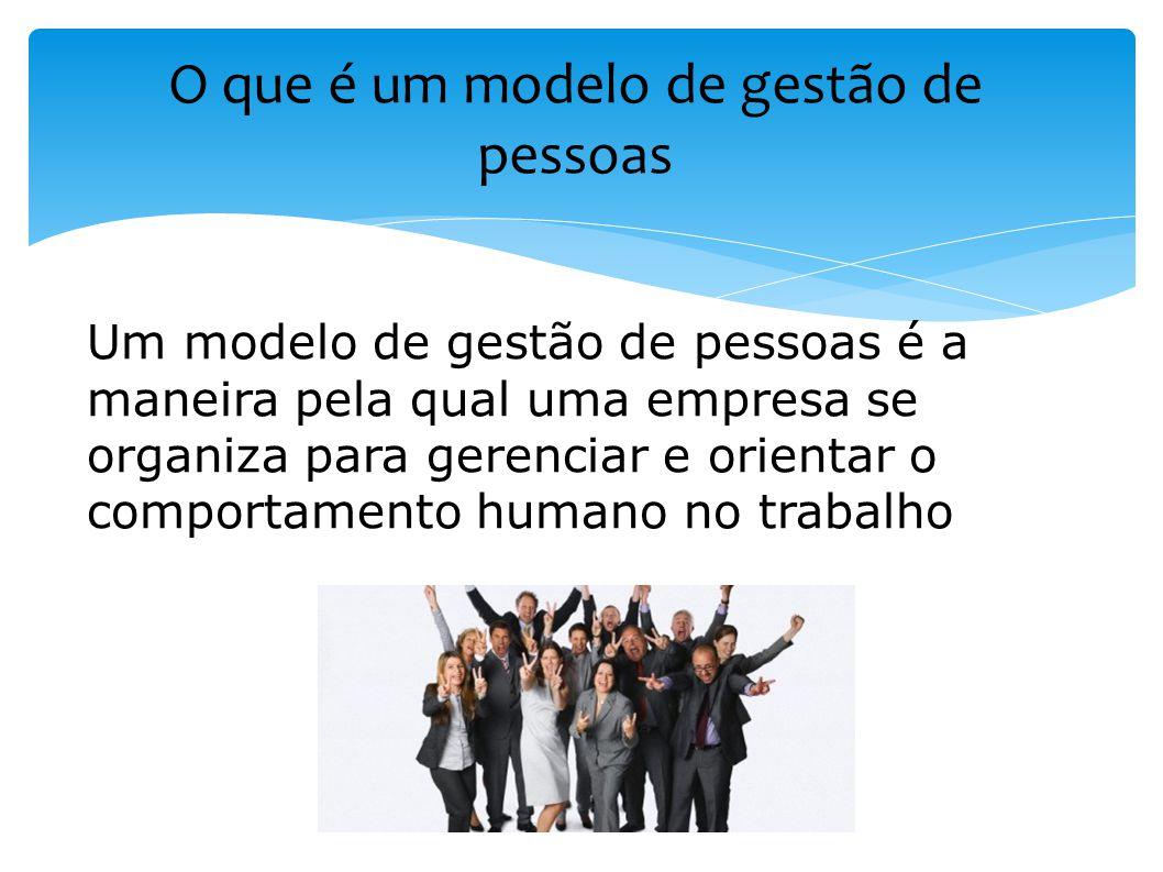 O que é um modelo de gestão de pessoas