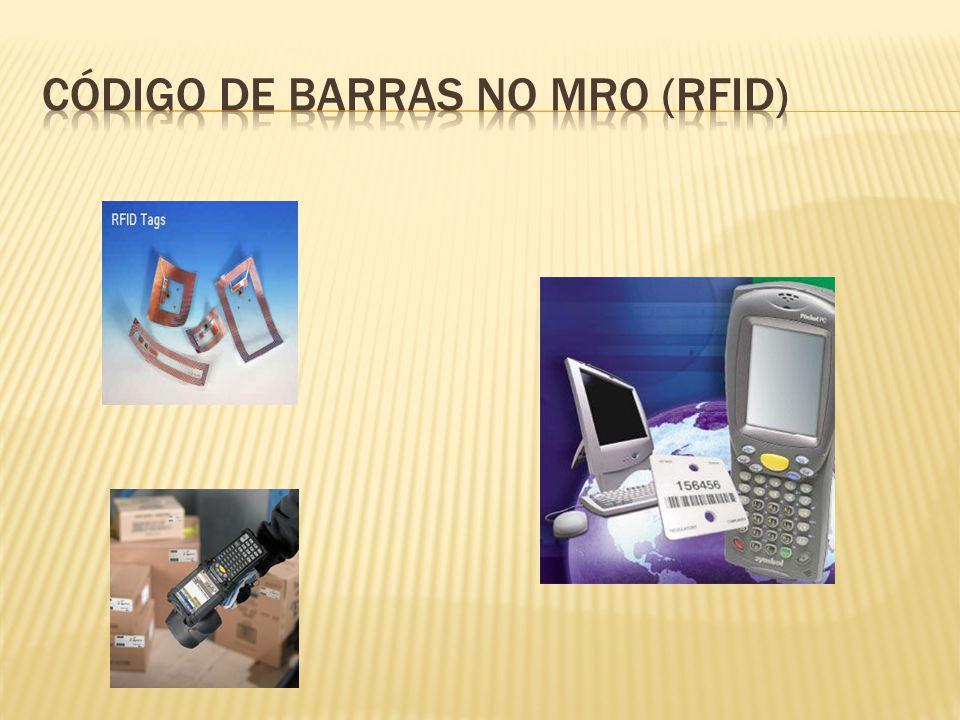 Código de barras no mro (rfid)