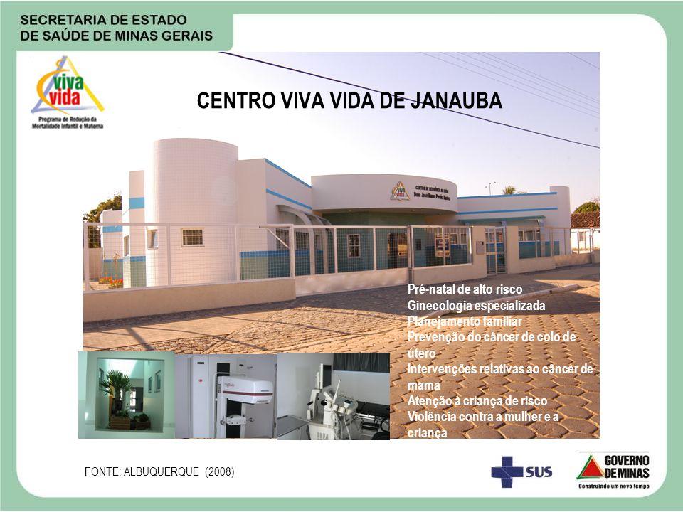 CENTRO VIVA VIDA DE JANAUBA