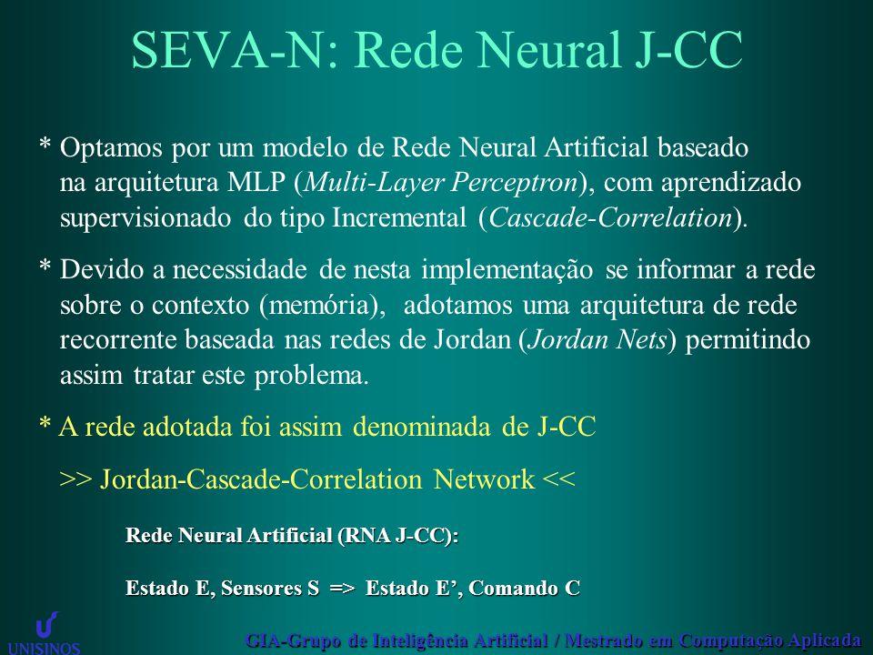 SEVA-N: Rede Neural J-CC