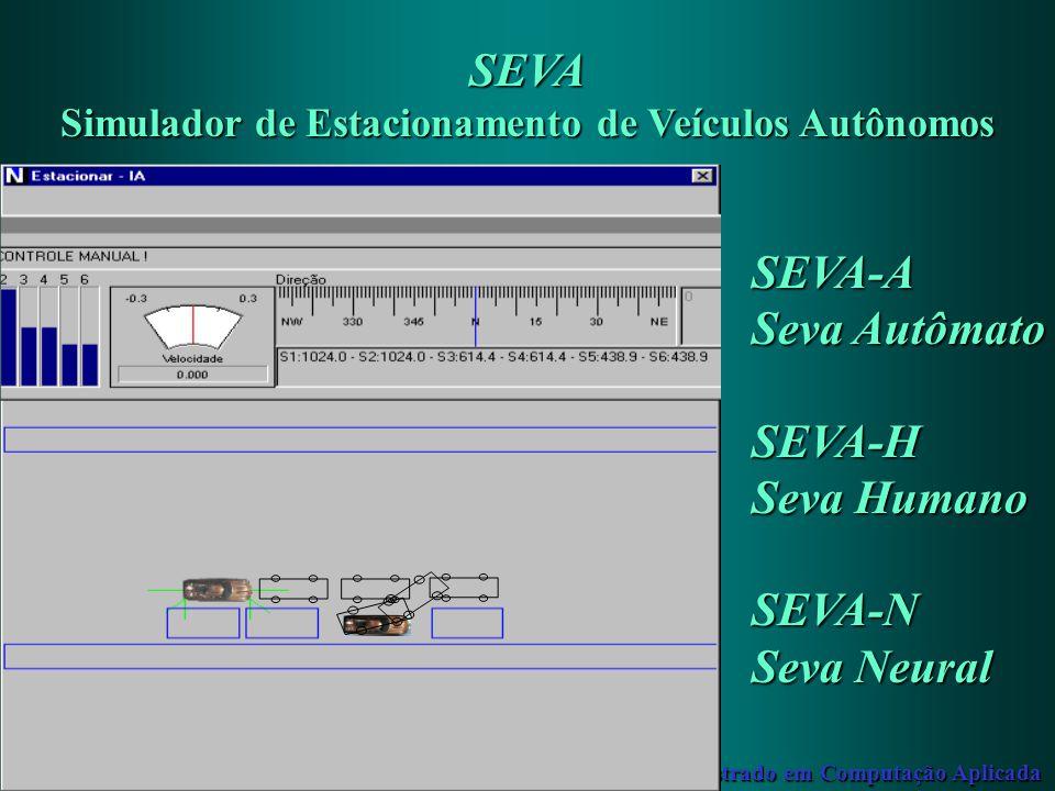 Simulador de Estacionamento de Veículos Autônomos